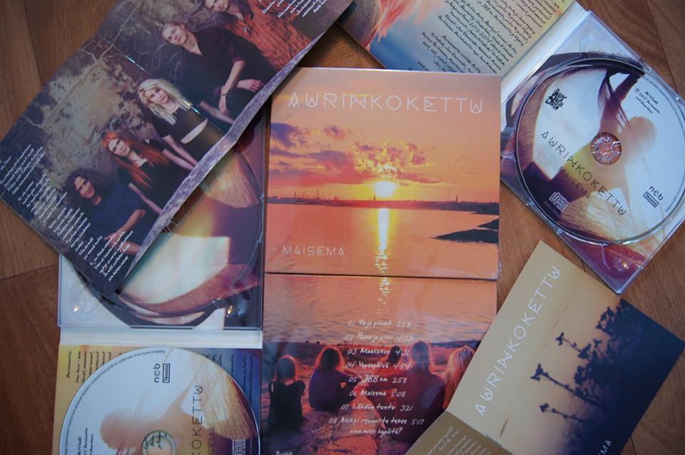 Aurinkoketun esikoisalbumi Maisema julkaistaan tänään